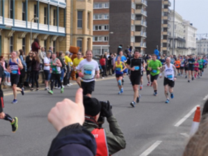 Rob's Brighton Marathon, 15th April 2018