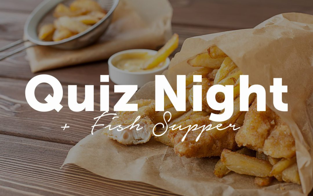 Fund Raising Quiz Night – Friday 13th March